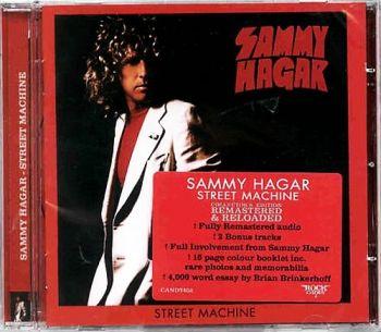Sammy Hagar - Street Machine [Rock Candy remaster] - front
