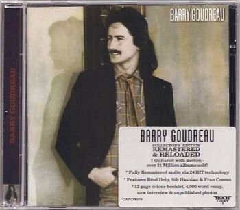 BARRY GOUDREAU - Barry Goudreau [Rock Candy Remastered & Reloaded] front