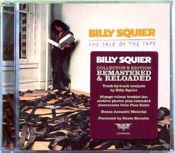 BILLY SQUIER - The Tale Of The Tape [Rock Candy remastered] front