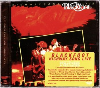 Blackfoot - Highway Song Live [Rock Candy remaster] front