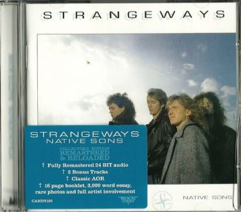 STRANGEWAYS - Native Sons [Rock Candy remaster +2] front