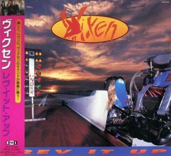 VIXEN - Rev It Up [Japan remastered 2006] front