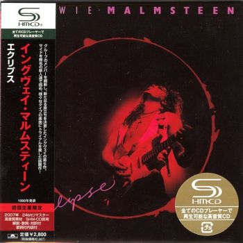 YNGWIE MALMSTEEN - Eclipse [Japan SHM-CD remastered MiniLP] front